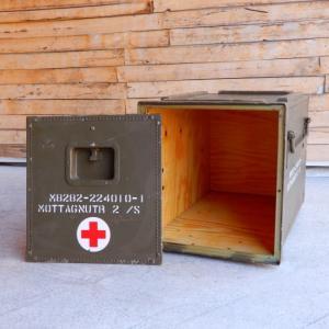 スウェーデン軍 メディカルウッドボックス Sサイズ abracadabra