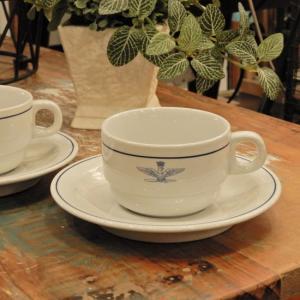 イタリア軍 A.M.I コーヒーカップ&ソーサー abracadabra