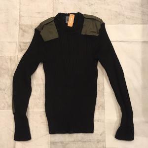 オランダ軍 コマンドセーター ブラック|abracadabra