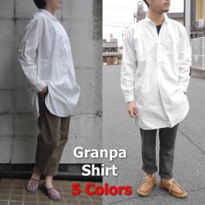 YMCLKY スウェーデンタイプ グランパシャツ 全5色|abracadabra