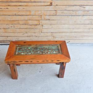 カリマンタン柄ローテーブル