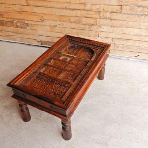 古い窓のローテーブル|abracadabra