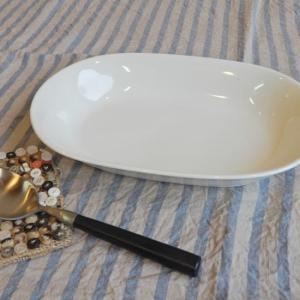 美濃焼 ベーシック楕円皿 abracadabra