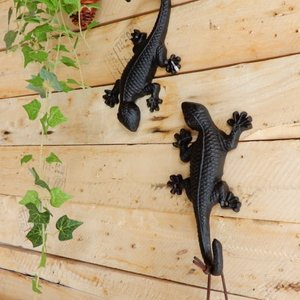 Lizard Hook Antique Black|abracadabra
