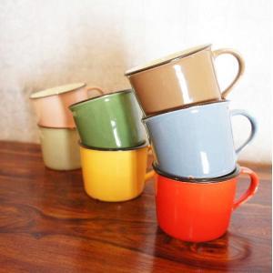 美濃焼 カンパーニュマグカップ 全7色|abracadabra