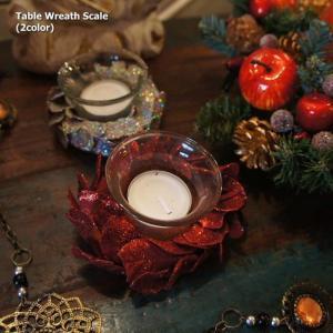 テーブルリースキャンドル(全2色)|abracadabra