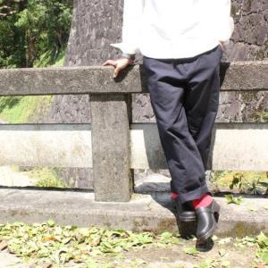 LOLO(ロロ) ヘビーオックスパンツ ダークネイビー|abracadabra