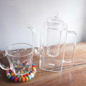 Glass tea pot SQUTAN 750ml|abracadabra