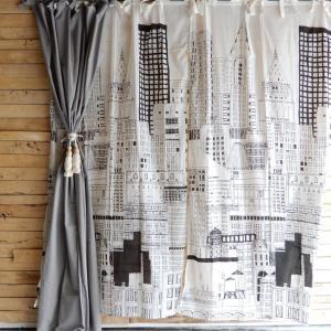 ランドスケープ カーテン 110×180cm ニューヨーク|abracadabra
