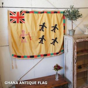 ガーナアンティークの旗|abracadabra