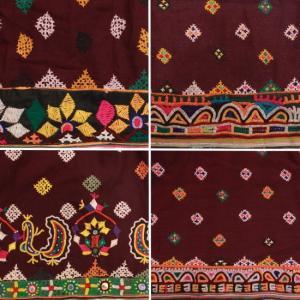 グジャラート刺繍ギャザーロングスカート 全4種|abracadabra