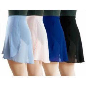 バレエ 巻きスカート 大人用 ジュニア用 6色展開