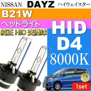 デイズ D4C D4S D4R HIDバルブ 35W 8000K バーナー 2本 DAYZ ハイウェイスター H25.6〜 B21W 純正HIDバルブ 交換球 as60558K|absolute
