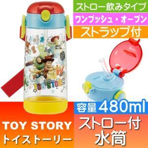 送料無料 トイストーリー ストロー付ボトル 480ml 水筒 PDSH5 キャラクターグッズ お子様用水筒 ストローボトル Sk345 absolute
