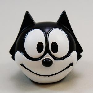 フィリックス アンテナボール アンテナトッパー キャラクター 黒猫 キャット シボレー 目印 カスタム アメ雑 定形外 abspec