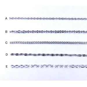 ステンレス チェーン 40cm〜50cm 5種類から選べる 5-sta01|ac-jewel