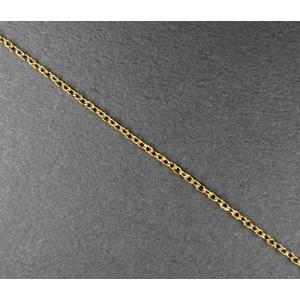 ステンレス アズキチェーン 1.5mm幅 ゴールドカラー 45cm 5-sta12|ac-jewel