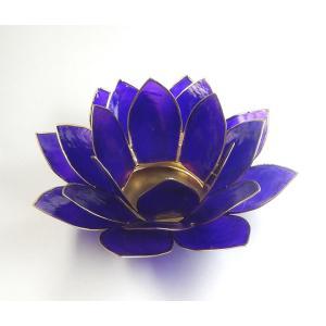 <title>70%OFFアウトレット ロータスキャンドルホルダー カピス貝 クラウンチャクラ対応 第七 パープルΦ約15cm ロータスの色の光が星形 瞑想に 蓮の花置物 瞑想や部屋の飾りに h018</title>