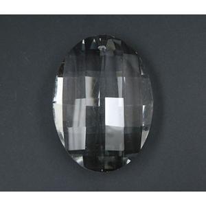 サンキャッチャー パーツ オーバル 人気ブランド シャンデリアパーツsunpa003 期間限定特別価格 クリスタルガラスパーツ 49×35mm