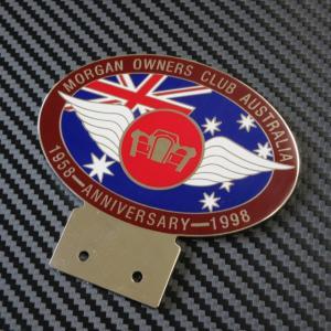 MORGAN CARBADGE MORGAN OWNERS CLUB AUSTRALIA 1958-ANNIVERSARY-1998 ac-minds-aj