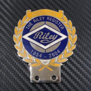 THE RILEY REGISTER GOLDEN JUBILEE 1954-2004 カーバッジ ac-minds-aj