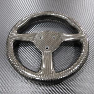 リヴェリー ReVerie ドライカーボンステアリングホイール フラットタイプ / ケーターハムスーパーセブン|ac-minds-aj