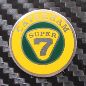 ケーターハム スーパーセブン CATERHAM SUPER7 アルミステアリングバッジ|ac-minds-aj