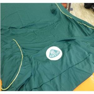 インドア カーカバー ロータス2イレブン グリーン/イエローパイピング ロータスマーク刺繍ワッペン|ac-minds-aj