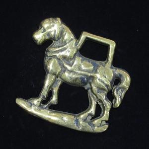 ホースブラス 英国製 馬 左向き ac-minds-aj