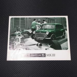 MINI COOPER S MK3 ミニ クーパーS Mk3 カタログ ac-minds-aj