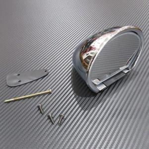 Vitaloni ビタローニ セブリングミラー クローム ミラーフラット 固定具付き|ac-minds-aj