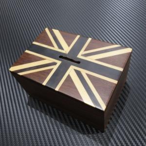 ユニオンジャック Union Jack 木製貯金箱