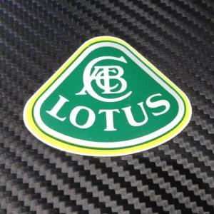 LOTUS ロータス ハスの葉形 ステッカー