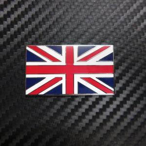 英国国旗 ユニオンジャック メタルバッチ 裏面接着シール付|ac-minds-aj