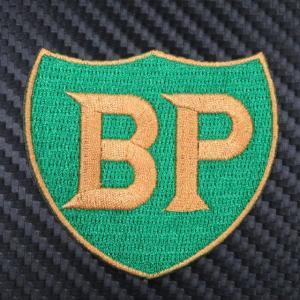 BP ロゴ クロスバッジ / アイロンタイプ|ac-minds-aj