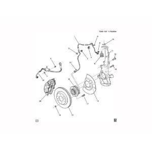 センサー・ABSフロント/ACデルコ製|acarparts