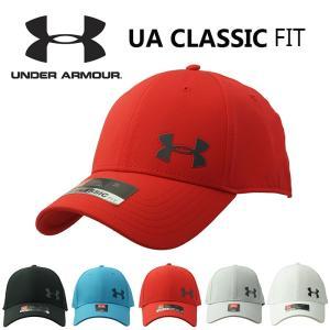 UNDER ARMOUR(アンダーアーマー) メンズ ロゴ プリント UA CLASSIC FIT スポーツ キャップ 1328631