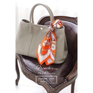 シルクスカーフ バッグ用スカーフ シルク100% スカーフ バッグ シルク バッグ 正方形 スカーフ プリントスカーフ バッグチャーム エレガント クール フェミニ|accessoriesgrace|04
