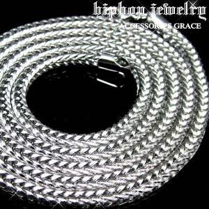HIP-HOPヒップホップフェイクプラチナフランコ・チェーン ブリンブリン B系|accessoriesgrace