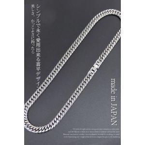 喜平ネックレス 喜平 チタン ネックレス メンズ ネックレス 人気 ネックレス チェーン 極太 W6面 10ミリ幅 55or60cm accessoriesgrace 07
