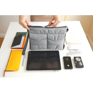 バッグ イン バッグ bag ばっぐ インナー バッグ 鞄 ipad タブレット 収納 可能 accessory-pov 03