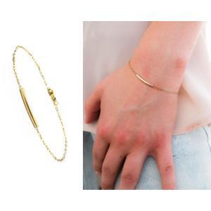 ブレスレット レディース プレゼント ゴールド シルバー アクセサリー シンプル フープ|accessory-pov