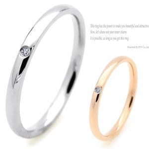リング レディース CZ ダイヤ シンプル 指輪 ring シルバー ピンク ゴールド|accessory-pov