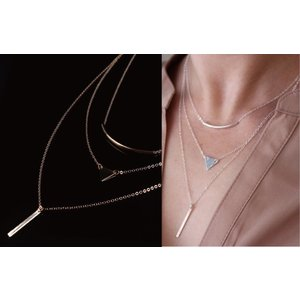 ネックレス レディース プレゼント ゴールド シルバー アクセサリー|accessory-pov