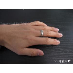 リング 指輪 メンズ シンプル シルバー ゴールド ステンレス accessory-pov 03