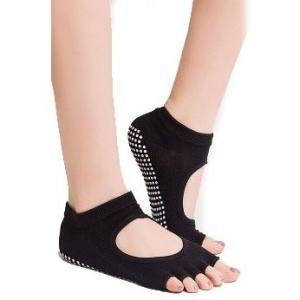 送料無料 ヨガ ソックス 3足セット 5本指 靴下 yoga ピラティス ホット ヨガ ウェア|accessory-pov|06