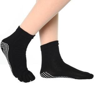 ヨガ ソックス 5本指 靴下 ホット ヨガウェア hot yoga ピラティス トレーニングウェア|accessory-pov|02