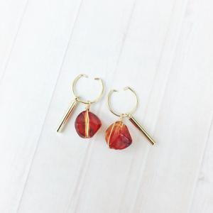 ニューノンホールピアス 4WAYべっ甲 マルピア|accessoryjapan