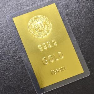 即納 インゴット 純金 K24 1g ゴールドバー INGOT 徳力