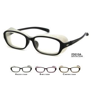 【SPEC】 □商品名:花粉眼鏡 保護メガネ UVカット □型番:FD010 □フレームカラー:ブラ...